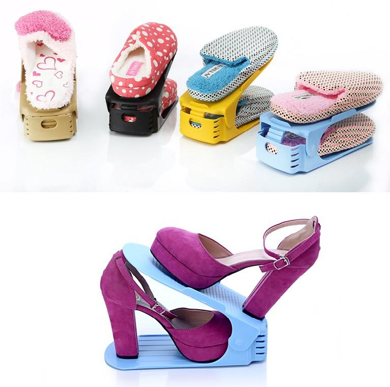 f42e61f7bbf05 Plastový úložný organizér na topánky - viac farieb   MILUJEME-ZLAVY ...